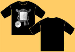 Captain Matchbox washboard Tshirt